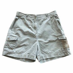Ralph Lauren khaki cargo shorts 10p petite